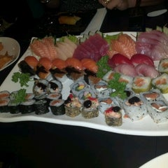 Photo taken at Hakka Sushi by Marina B. on 12/12/2012