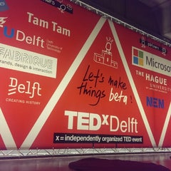 Photo taken at TEDxDelft by Aleksandrs B. on 2/26/2015