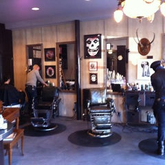 Photo taken at Graceland Hair & Tattoo by David K. on 1/10/2013