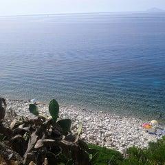 Photo taken at Spiaggia Seccheto by Laura C. on 8/4/2013
