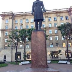 Photo taken at Памятник Добролюбову by Андрей С. on 6/16/2013