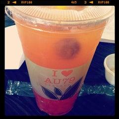 Photo taken at AU 79 Tea House by Benjamin B. on 10/17/2012