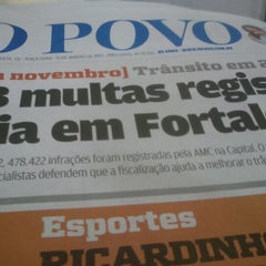 Photo taken at Rádio O POVO CBN Fortaleza FM 95.5 by Gustavo A. on 1/15/2013