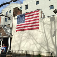 Photo taken at Betsy Ross House by Sharon D. on 4/4/2013