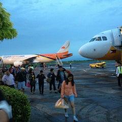 Photo taken at Daniel Z. Romualdez Airport (TAC) by Bea C. on 1/23/2013