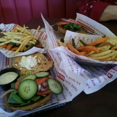 Photo taken at Smashburger by April R. on 11/6/2012