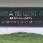 Photo taken at SMA Negeri 4 Magelang by Subhan E. on 11/16/2012