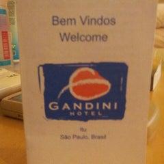 Photo taken at Hotel Gandini by Feu B. on 6/8/2013