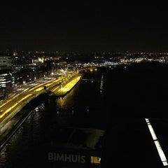 Photo taken at Mövenpick Hotel Amsterdam City Centre by Daan v. on 2/11/2013