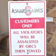 Photo taken at Asgard Games by Dan E. on 3/17/2013