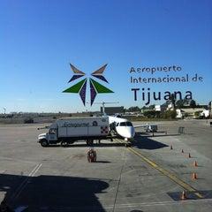 Photo taken at Aeropuerto Internacional de Tijuana (TIJ) by Claudia T. on 1/8/2013