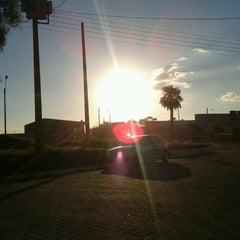 Photo taken at Frontera Brasil Uruguay by Ana V. on 11/25/2013