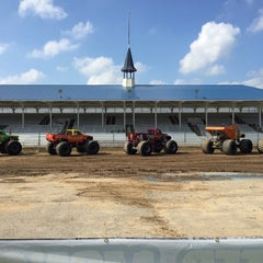 Photo taken at Ionia Fairgrounds by Chris Z. on 7/17/2015