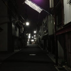 Photo taken at 壬生京極会商店街 by Klaudios P. on 7/26/2013