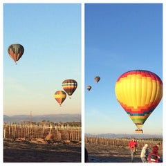 Photo taken at Magical Adventure Balloon Rides by Abrar T. on 12/31/2013
