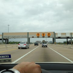 Photo taken at President George Bush Turnpike (PGBT) by Jason B. on 4/26/2013