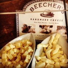 Photo taken at Beecher's Handmade Cheese by Jenn P. on 1/12/2013