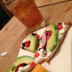 Photo taken at Le Pain Quotidien by Ron Z. on 2/15/2013