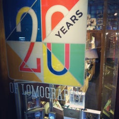 Photo taken at Lomography Gallery Store Shanghai by Joannie C. on 12/2/2012