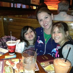 Photo taken at Outback Steakhouse by John P. on 3/3/2013