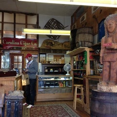 Photo taken at Carolina Cigar Company by Mairead M. on 11/14/2012