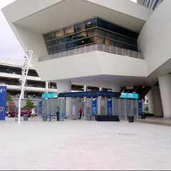 Photo taken at Marlins Park by Erik D. on 6/1/2013