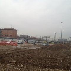 Photo taken at Stazione Novate Milanese by Lorenzo C. on 1/19/2013