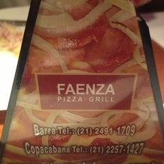 Photo taken at Faenza Pizza & Grill by Gabriel L. on 3/17/2013