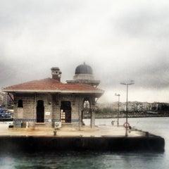 Photo taken at İDO Bostancı Deniz Otobüsü İskelesi by Beste A. on 4/8/2013