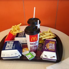 Photo taken at McDonald's by Javier B. on 3/4/2013