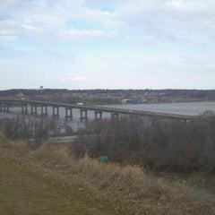 Photo taken at Fred Schwengel Memorial Bridge by Dave M. on 2/18/2013