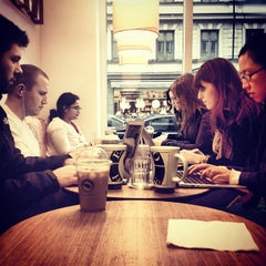 Photo taken at Espresso House by Alex P. on 12/31/2012