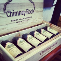 Photo taken at Chimney Rock Winery by TheYumYum F. on 4/14/2013