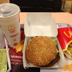 Photo taken at McDonalds by Haitham A. on 2/17/2013