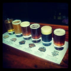 Photo taken at Rock Bottom Brewery by Sukh D. on 1/27/2013