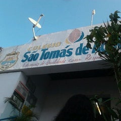 Photo taken at Colégio São Tomás de Aquino by Joyce T. on 12/12/2012