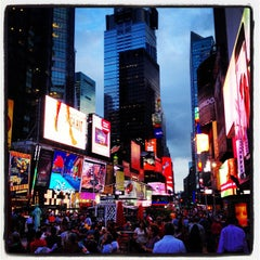 Photo taken at Times Square Alliance by Alessandro P. on 8/29/2013