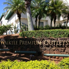 Photo taken at Waikele Premium Outlets by Ryan T. on 5/27/2013