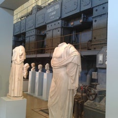 Photo taken at Centrale Montemartini by Paolo B. on 7/17/2013