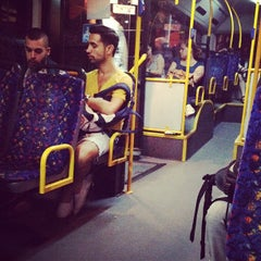 Photo taken at קו 5 by Dalia K. on 10/15/2012