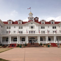 Photo taken at Stanley Hotel by Tracey K. on 5/5/2013