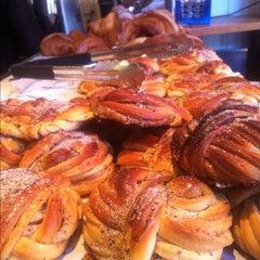 Photo taken at Mellqvist Kaffebar by Helen K. on 10/25/2012