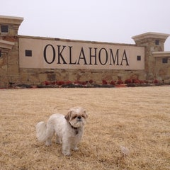 Photo taken at Oklahoma Visitor Center by DJ A. on 12/24/2013