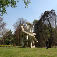 Photo taken at Parco Sempione by Giorgi N. on 4/17/2013