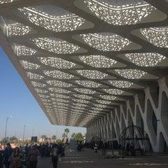Photo taken at Aéroport de Marrakech Ménara | مطار مراكش المنارة‎  (RAK) by Giorgi N. on 4/11/2013