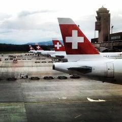 Photo taken at Zürich Airport (ZRH) by Timur Z. on 6/9/2013