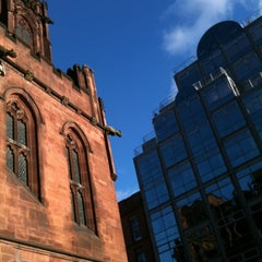 Photo taken at The John Rylands Library by Jeff P. on 12/1/2012