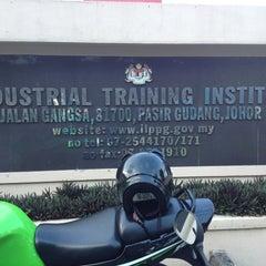 Photo taken at Institut Latihan Perindustrian Pasir Gudang by Emmy P. on 2/7/2013
