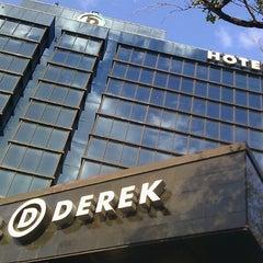Photo taken at Hotel Derek by Daniel N. on 3/17/2013