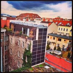 Das Foto wurde bei Boutiquehotel Stadthalle von Andriy U. am 4/8/2014 aufgenommen